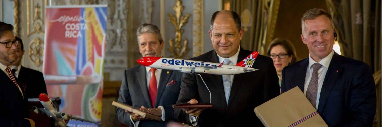 Vol direct de la Suisse au Costa Rica avec la compagnie aérienne Edelweiss