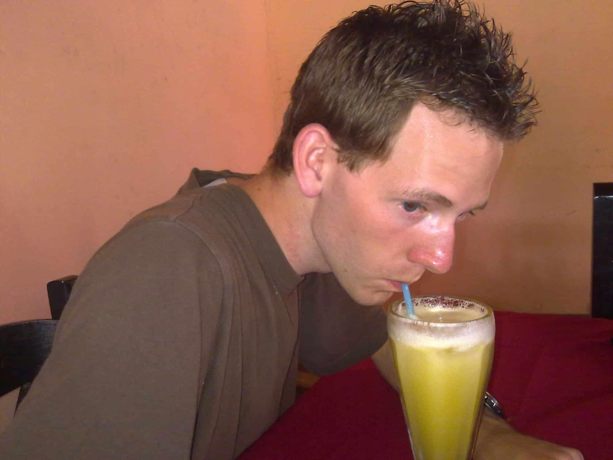 jus de fruit frais au Costa Rica