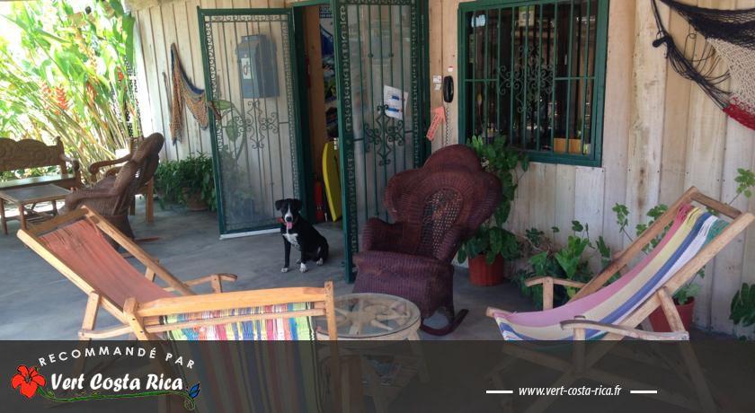 La Posada B&B : Vue magnifique sur Playa Carrillo