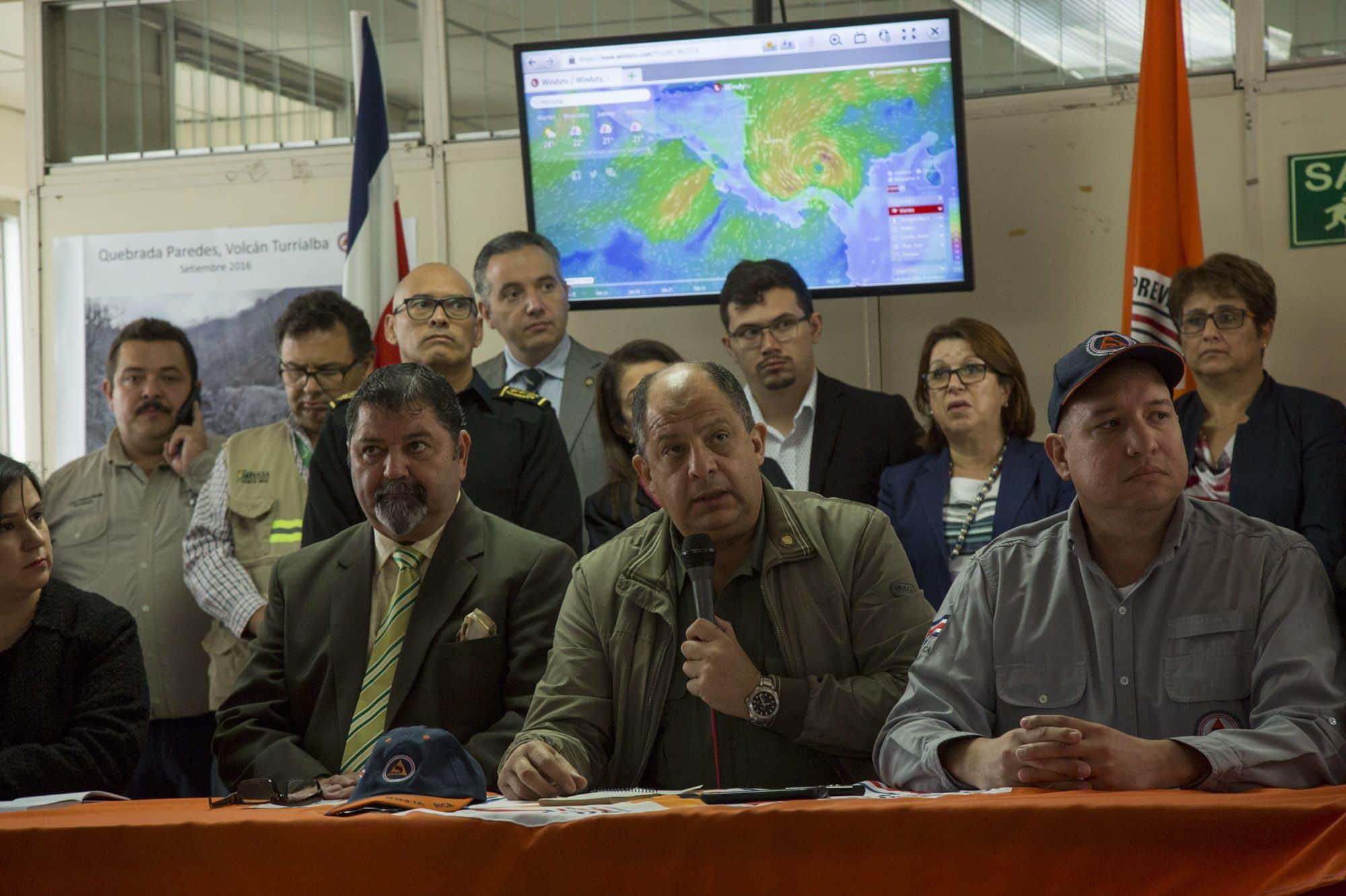 Ouragan Otto au Costa Rica : une expérience jamais vécue