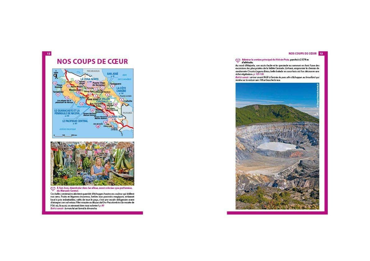 Le Guide du Routard pour le Costa Rica : Nos coups de coeur