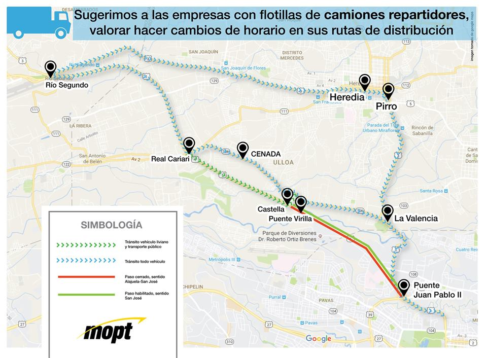 Pont Platina Routes Alternatives