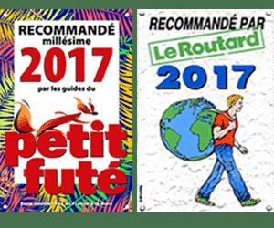 Vert-Costa-Rica recommandé 2017 par le Guide du Petit Futé et du Routard