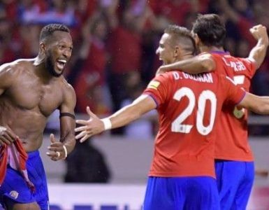 Qualification du Costa Rica pour la coupe du monde FIFA 2018 !