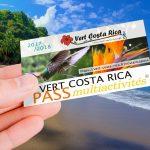 Notre toute nouvelle carte Vert-Costa-Rica PASS Multiactivités arrive !