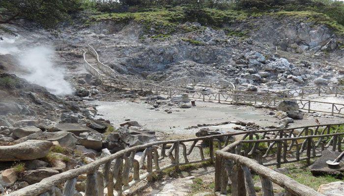 Zone protégée du Volcan Miravalles : réserves et refuges biologiques du Costa Rica
