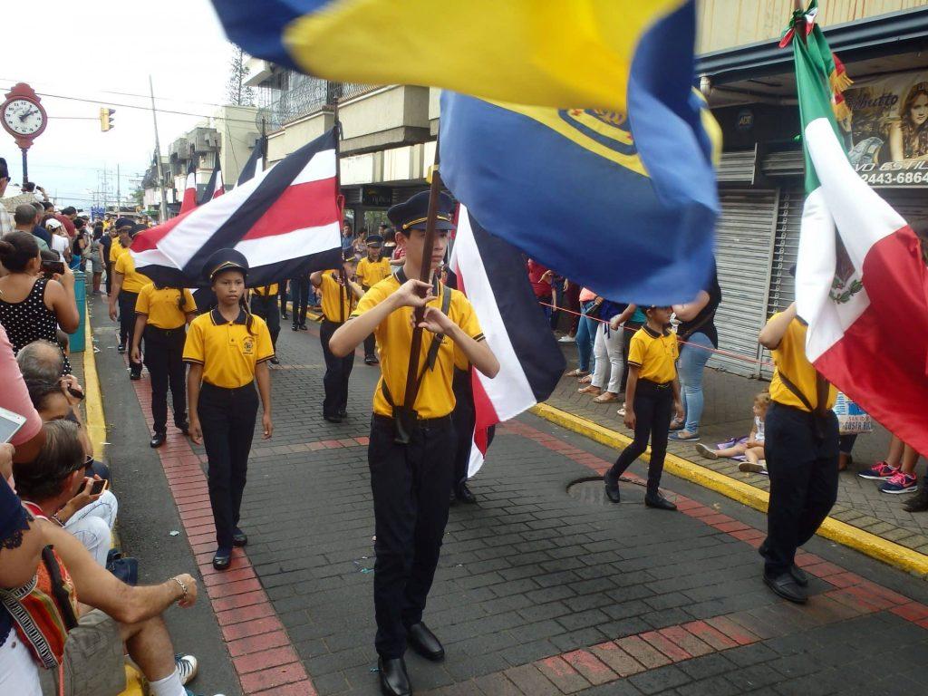 Héros national Juan Santamaria : Fête nationale du 11 avril 2018 à Alajuela