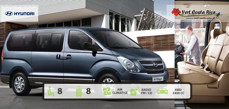 Location de voiture au Costa Rica | Minibus Hyundai H1 - 2WD