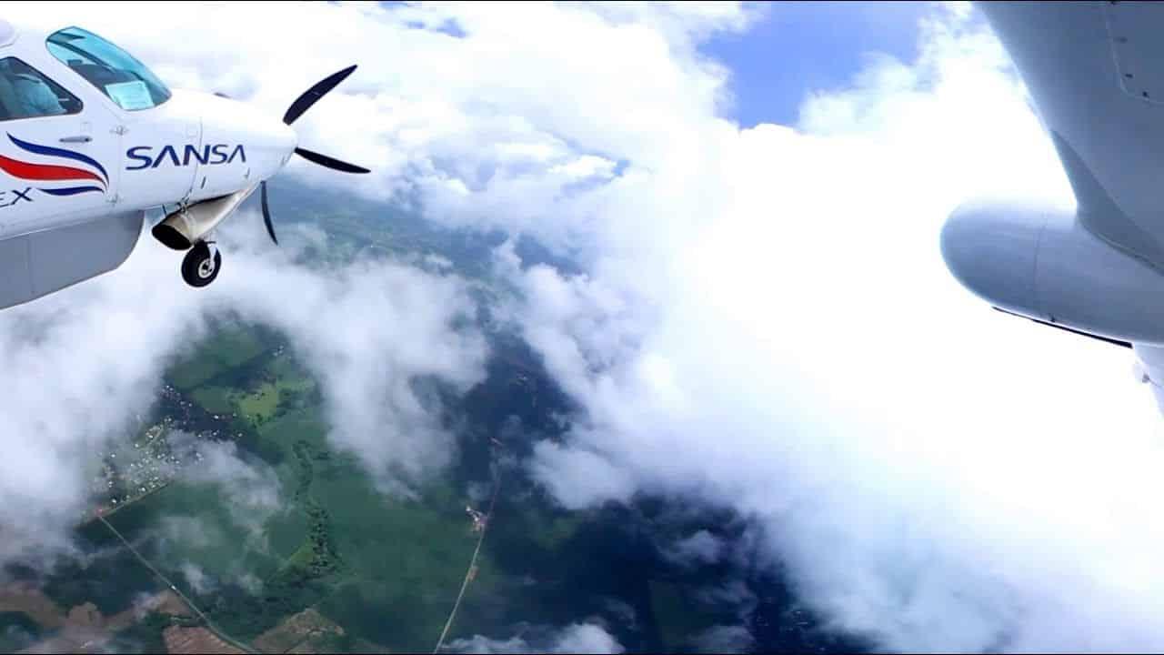 Vol Costa Rica pas cher, SANSA Tamarindo