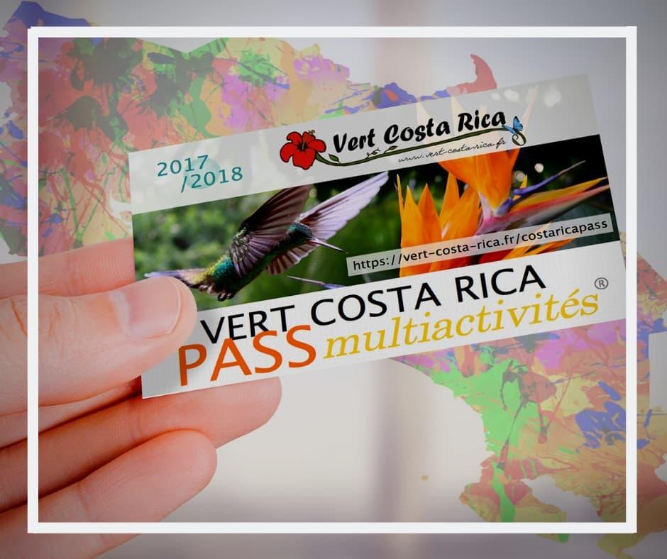 Service Vert Costa Rica : Carte Pass Multiactivités et Hôtels