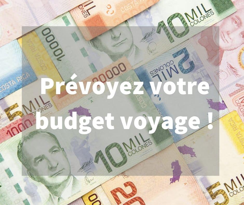 Prévoyez votre budget voyage : conseil Vert Costa Rica
