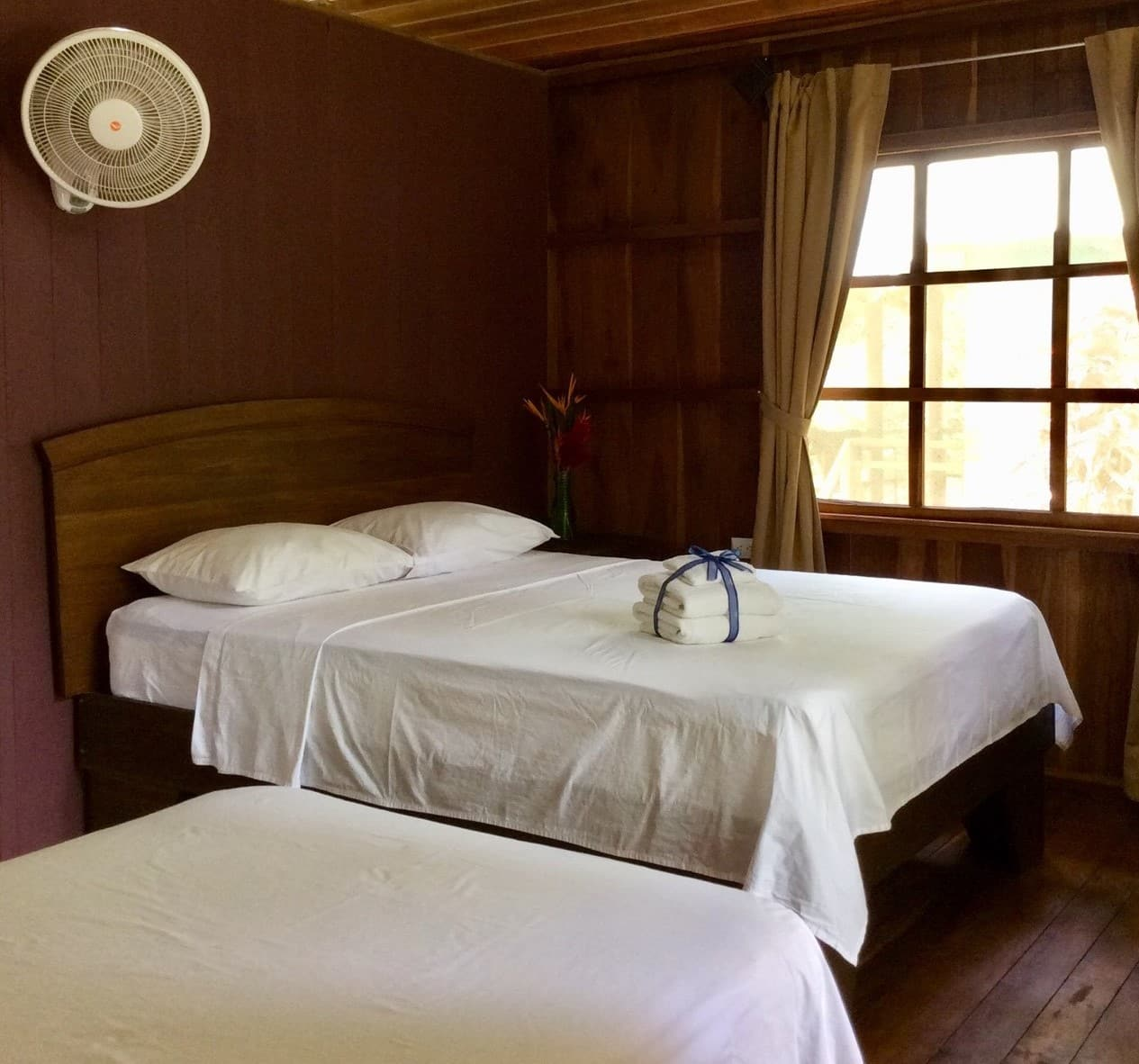 chambre hotel Hiden Paradise Losge Pack Corcovado de vertcostarica