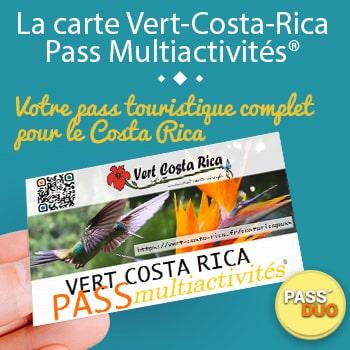 Adoptez la Carte Pass Multiactivités VERT COSTA RICA