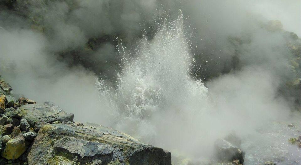 Activité volcanique du volcan Poas - Avril 2017 - fermeture du volcan