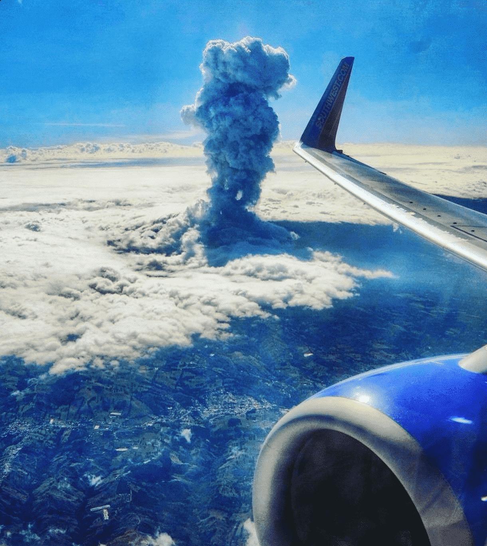 Fermeture du volcan Poas en raison d´une activité volcanique - Avril 2017