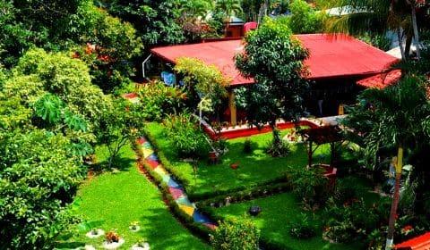 Vue de l'hôtel Brilla Sol au Costa Rica