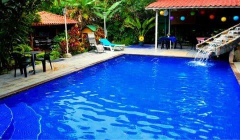 Piscine de l'hôtel Brilla Sol au Costa Rica