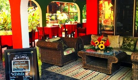 Salon de l'hôtel Brilla Sol au Costa Rica