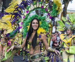 Le carnaval de noël au Costa Rica
