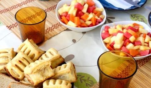 Petit déjeuner de chez Vincent au Costa Rica