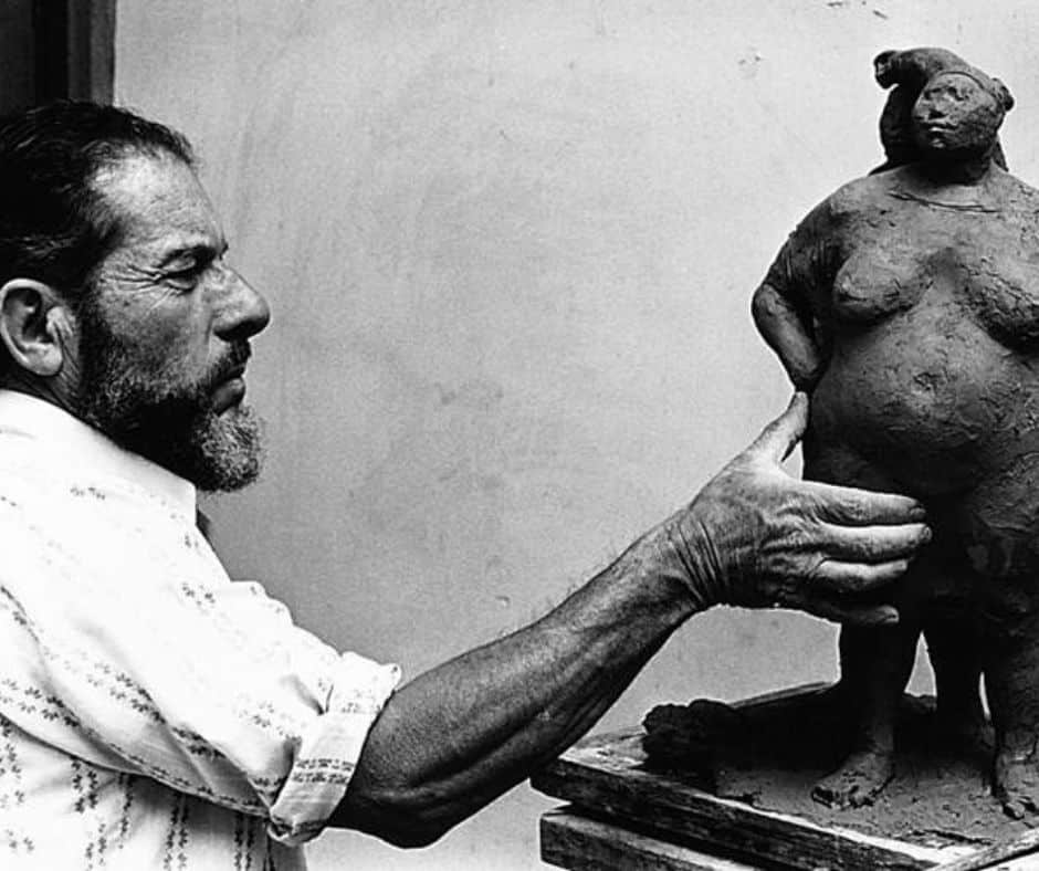 L'artiste costaricien Francisco Zuniga