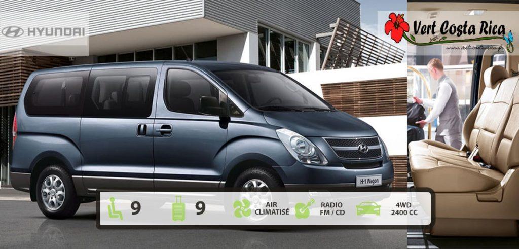 Voiture 4x4 Costa Rica : MiniBus Hyundai H1
