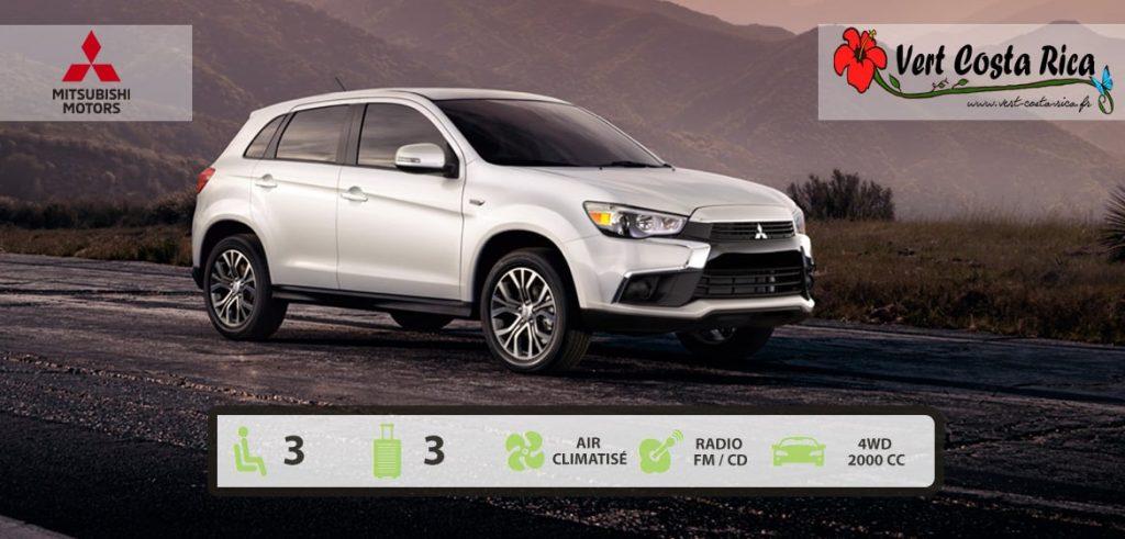 Voiture 4x4 Costa Rica : Mitsubishi ASX