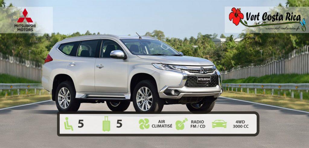 Voiture 4x4 Costa Rica : Mitsubishi Montero Sport