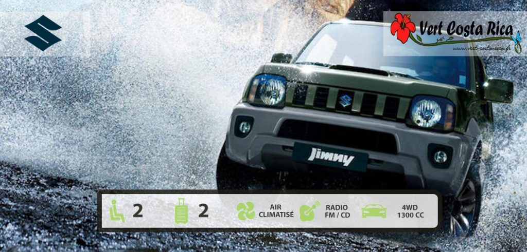 Voiture 4x4 Costa Rica : Suzuki Jimny