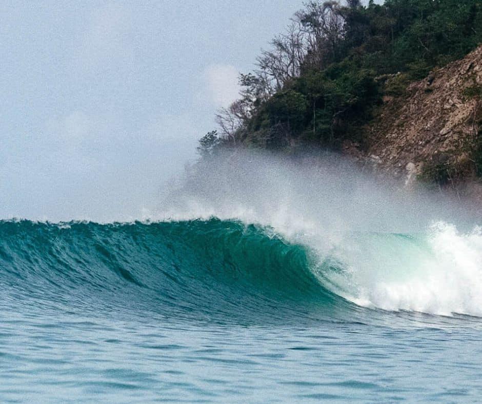 Plage Naranjo pour le surf au Costa Rica