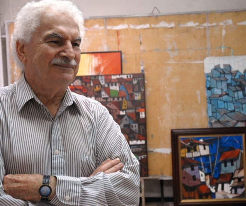 L'artiste costaricien Rafael Angel