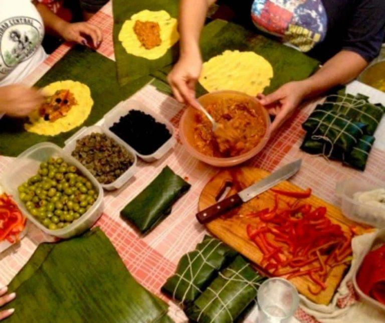 Repas de noël au Costa Rica