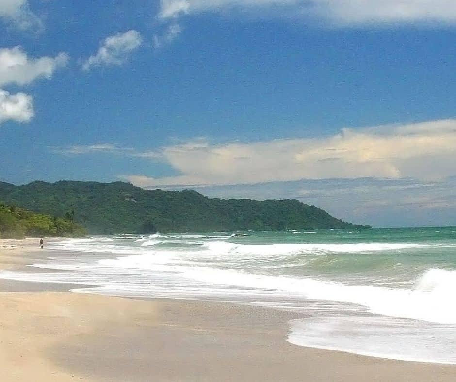 Plage Santa Teresa pour le surf au Costa Rica