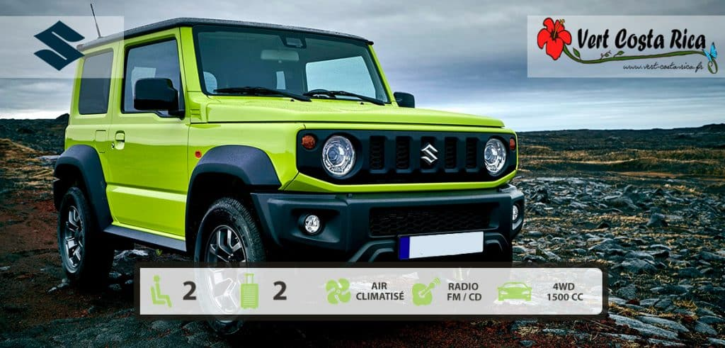 Voiture 4x4 Costa Rica : Suzuki Jimny 2020 Automatique