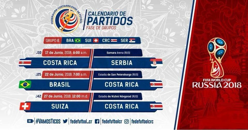 Le Costa Rica sera au rendez-vous en Russie pour la coupe du monde 2018