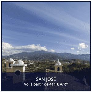 Vol Air France Direct Paris Costa Rica