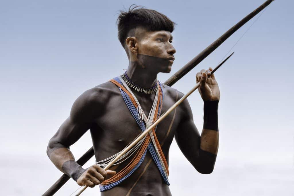 guerrier Embera - Playa Muerto - Panama©StudioPonant_MorganeMonneret