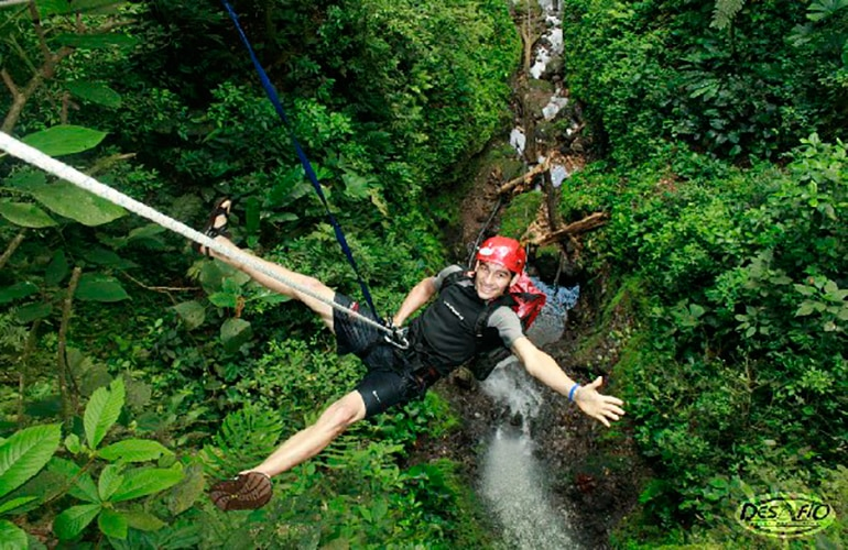 Canyoning au Costa Rica