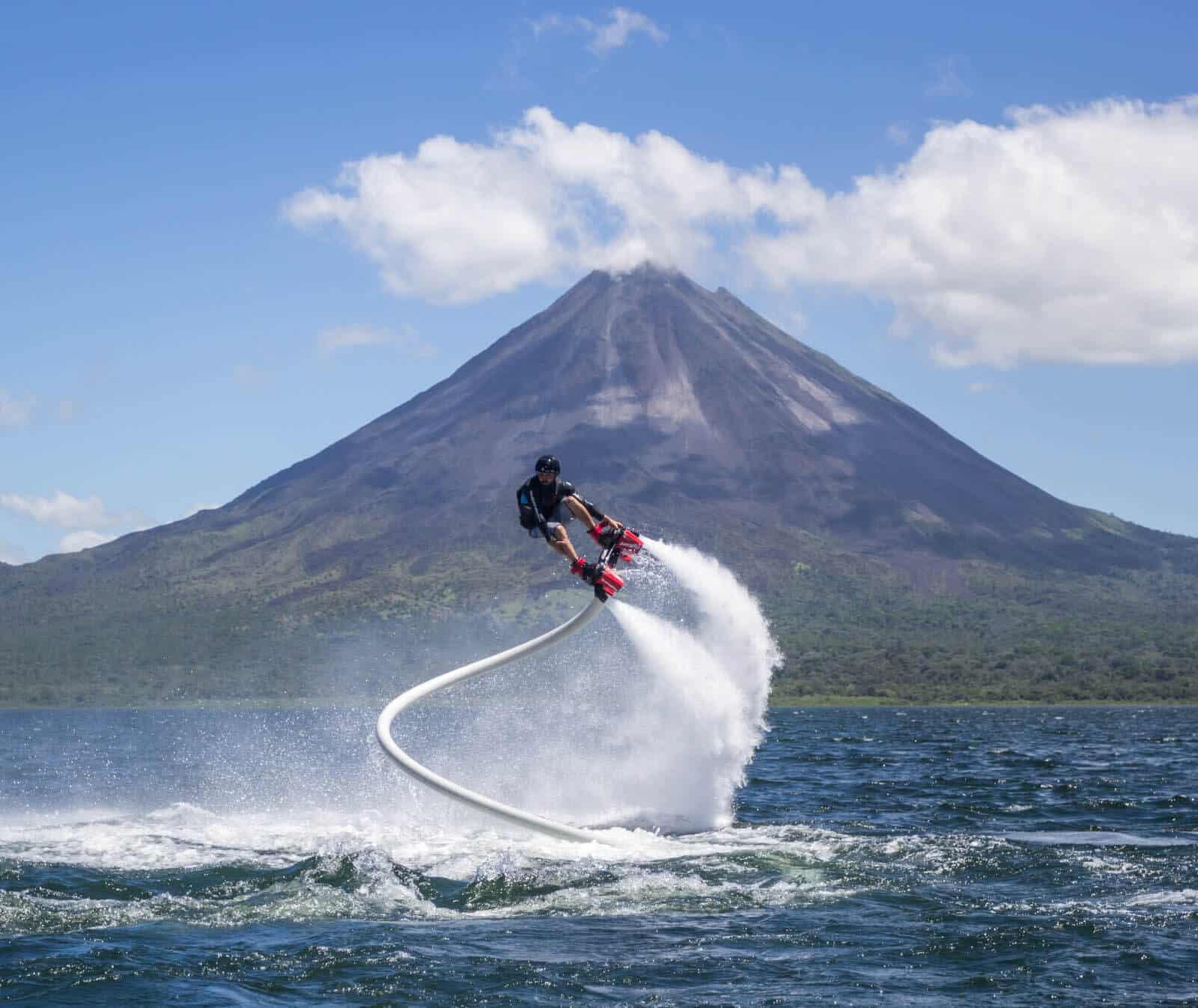 Sky board au Costa Rica