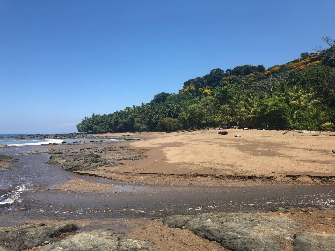 Plage Corcovado au Costa Rica