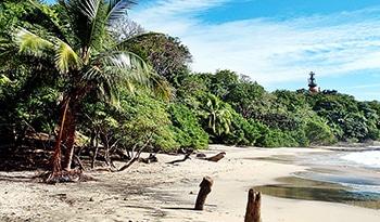 Plage Pelada au Costa Rica