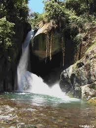 Cascade savegre au Costa Rica