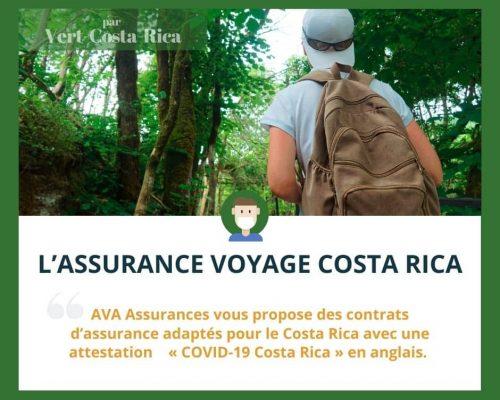Assurance Voyage AVA pour le Costa Rica