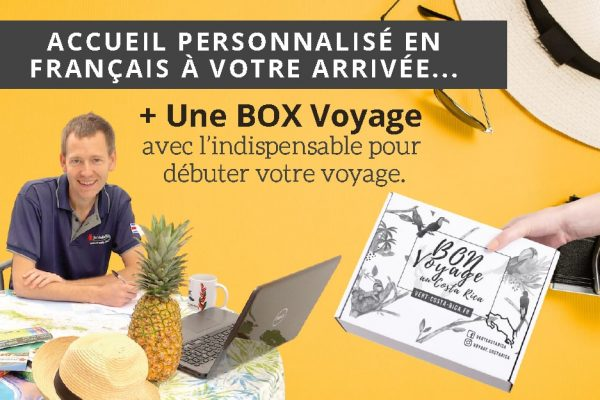 Profitez d'un accueil personnalisé en français pour débuter votre voyage au Costa Rica du bon pied !